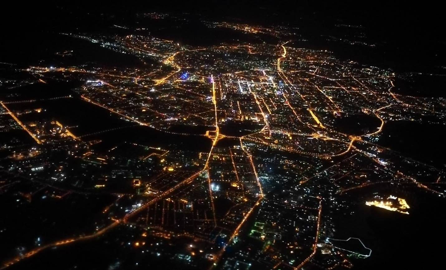 освещения автомагистралей